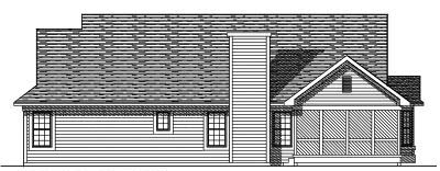 Rear Elevation Plan: 7-221