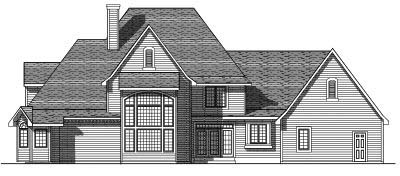 Rear Elevation Plan: 7-223