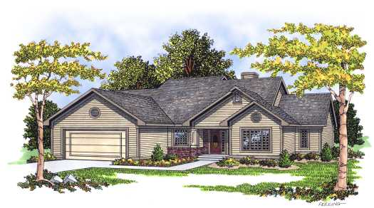 Ranch Style Floor Plans Plan: 7-226