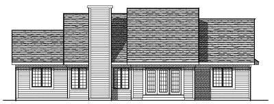 Rear Elevation Plan: 7-226