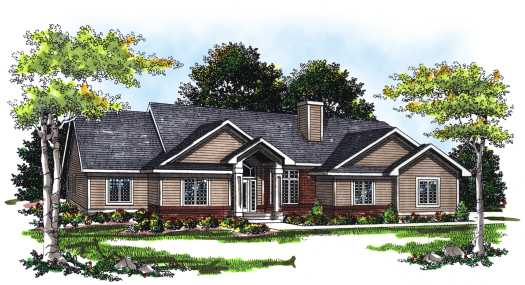 Traditional Style Floor Plans Plan: 7-227