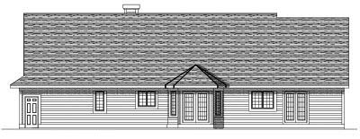 Rear Elevations Plan:7-227