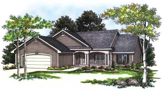 Ranch Style Floor Plans Plan: 7-230