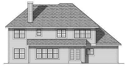 Rear Elevations Plan:7-231