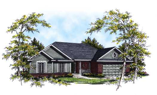 Traditional Style House Plans Plan: 7-232