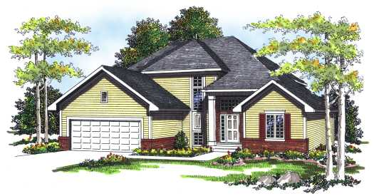 Traditional Style House Plans Plan: 7-233