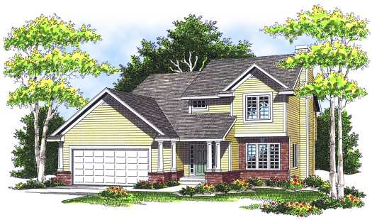 Traditional Style Floor Plans Plan: 7-235