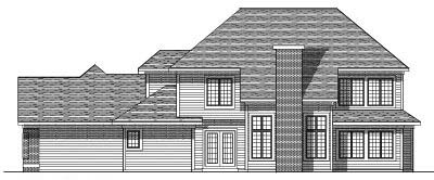 Rear Elevation Plan: 7-241
