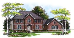 Southern-Colonial Style House Plans Plan: 7-241