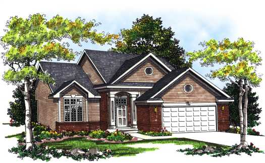 Traditional Style Floor Plans Plan: 7-242