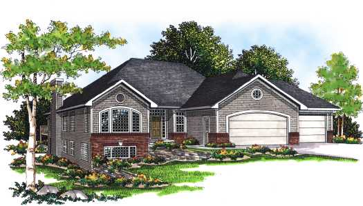 Traditional Style Floor Plans Plan: 7-243