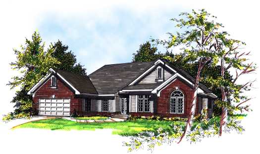 Traditional Style Floor Plans Plan: 7-246