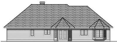 Rear Elevation Plan: 7-247
