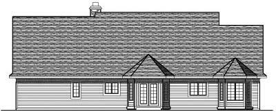 Rear Elevation Plan: 7-248