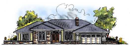 Prairie Style House Plans Plan: 7-250