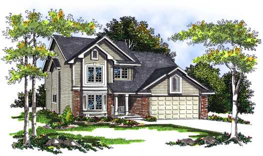 Traditional Style Floor Plans 7-255