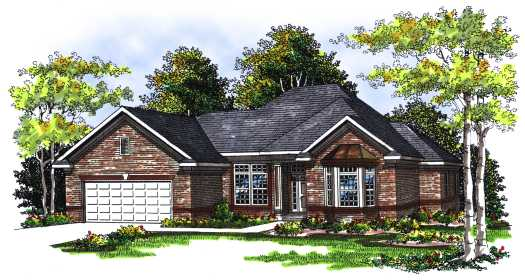Traditional Style House Plans Plan: 7-257