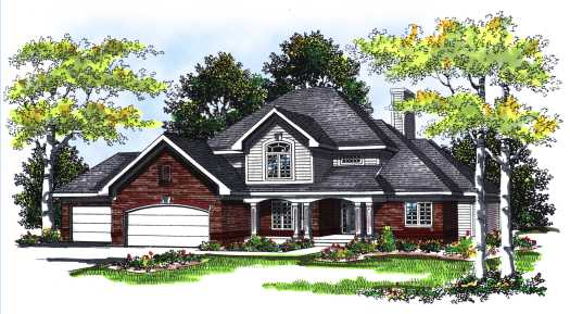 Traditional Style Floor Plans Plan: 7-259