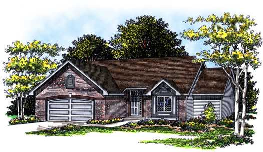 Traditional Style Floor Plans Plan: 7-262