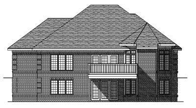 Rear Elevation Plan: 7-264