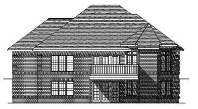 Rear Elevation Plan: 7-265