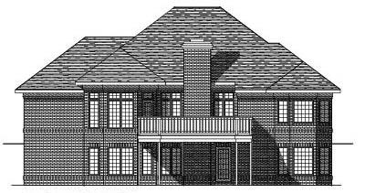 Rear Elevation Plan: 7-267