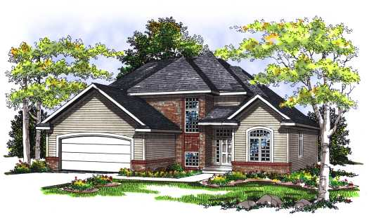 Traditional Style House Plans Plan: 7-269
