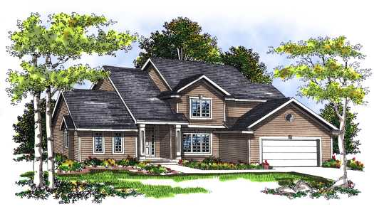 Traditional Style Floor Plans Plan: 7-270