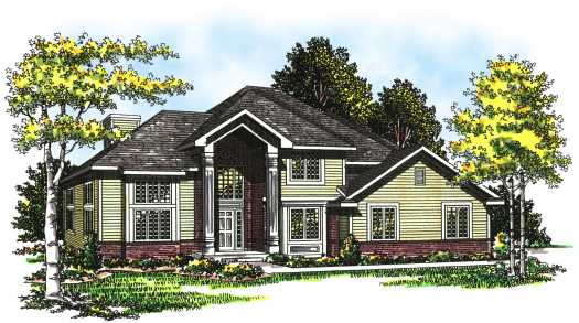 Traditional Style Floor Plans Plan: 7-271