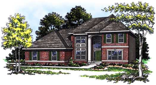 Traditional Style House Plans Plan: 7-272
