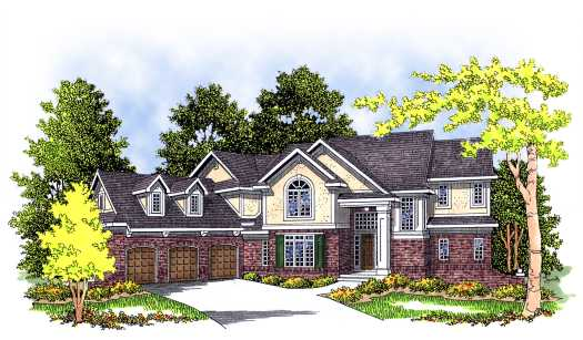 Traditional Style House Plans Plan: 7-276