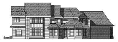 Rear Elevation Plan: 7-276