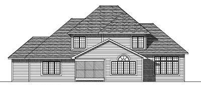Rear Elevation Plan: 7-277