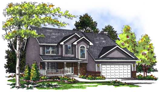 Traditional Style Floor Plans Plan: 7-278
