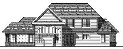 Rear Elevation Plan: 7-279