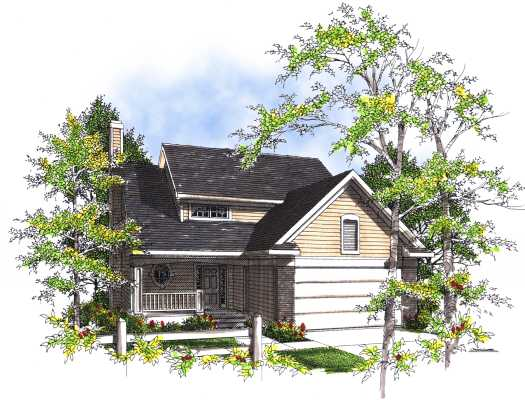 Country Style House Plans Plan: 7-281