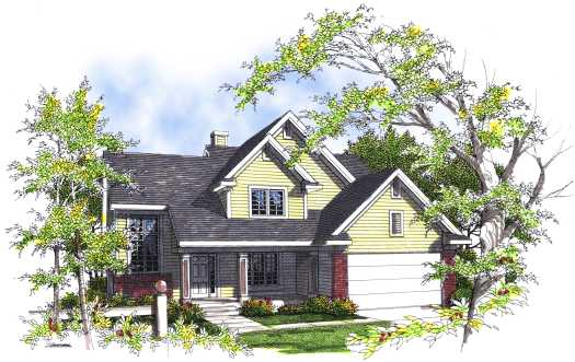 Traditional Style House Plans Plan: 7-282