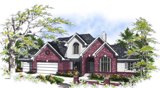 Traditional Style Floor Plans Plan: 7-283