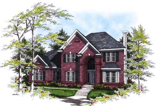 Traditional Style House Plans Plan: 7-289