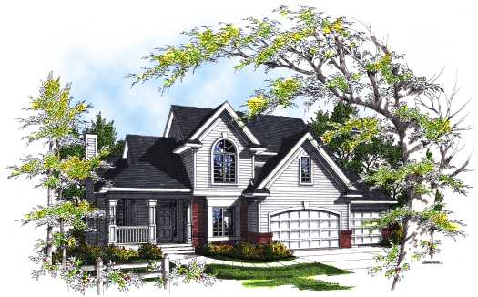 Traditional Style House Plans Plan: 7-290