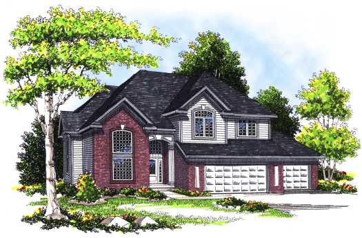 Traditional Style Floor Plans Plan: 7-291