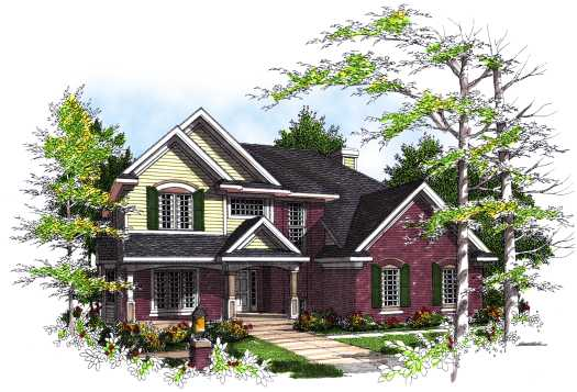 Country Style House Plans Plan: 7-292