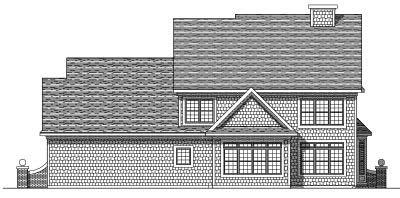 Rear Elevation Plan: 7-293