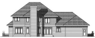 Rear Elevation Plan: 7-298