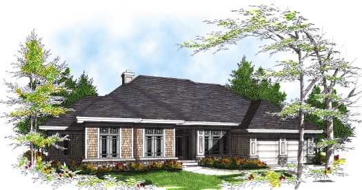 Traditional Style House Plans Plan: 7-300