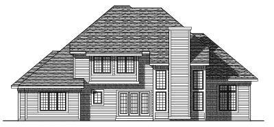 Rear Elevation Plan: 7-305