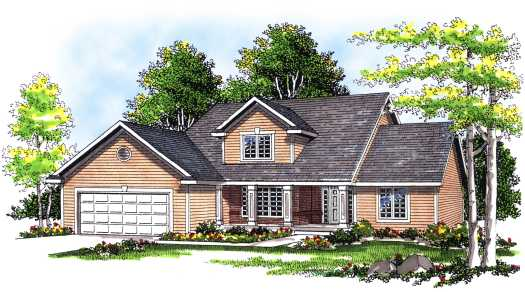 Traditional Style House Plans Plan: 7-308