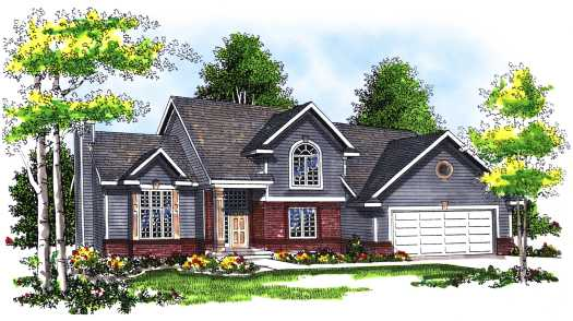 Traditional Style House Plans 7-310
