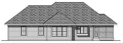 Rear Elevation Plan: 7-311