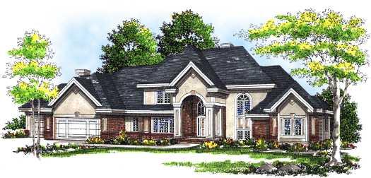 European Style Home Design 7-312